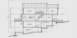 Craftsman Duplex House Plans  Luxury Duplex House Plans BasementHouse rear elevation view for D  Craftsman duplex house plans  Luxury duplex house