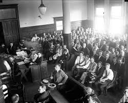 shoeless joe jackson virtual hall of fame trial related crowd at trial