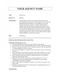 com page of business resume resume receptionist job description duties receptionist job description receptionist job description