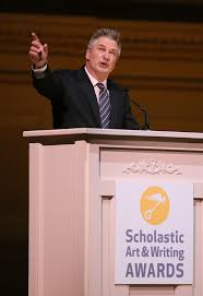 scholastic art writing awards scholastic media room award winning actor alec baldwin addresses students and their families and teachers at the national ceremony for the 2016 scholastic art writing awards
