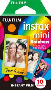 Фотопленка <b>Instax mini</b> Rainbow с радужной <b>рамкой</b>