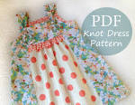 Popular items for knot dress pattern on Etsy