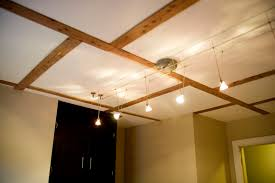 cozy interior design for your basement with track lighting ideas top notch bronze line with basement track lighting