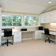 enticing l shaped office desk design for shared with utility drawers and cabinets also black labeled in design your own desk build build your own office