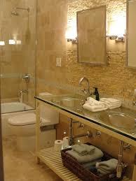 ideas bathroom tile color cream neutral: floor cream wall amp lighting in bathroom color theme with contemporary style contemporary bathroom
