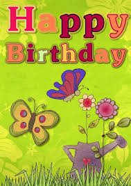 Image result for a green  happy birthday pix