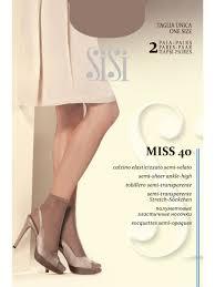 Тонкие <b>носки</b> для женщин - SiSi <b>Miss</b> 40 <b>calz</b> (2 пары) <b>Носки</b> ...
