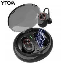 YTOM YT8 <b>Bluetooth</b> 5.0 <b>Wireless Headphones</b> play 6 hours Ture ...