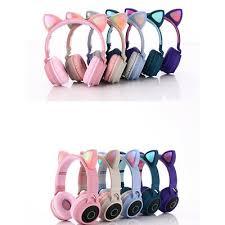 <b>BT</b>-<b>028C</b> Wireless Headphone <b>Bluetooth Earphones</b> Cat Ear Noise ...