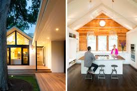 Interior And Exterior Of Austin Residential Home
