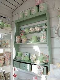 Shabby Chic Colors For Kitchen : Awesome shabby chic kitchen designs styletic