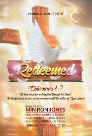 redeemed church flyer by kill bill123 graphicriver redeemed church flyer jpg