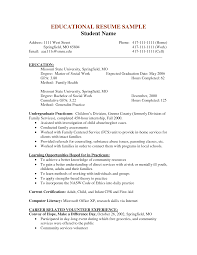 msw resume sample  sample social work resume examples  free    msw resume sample