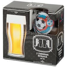 <b>Бокал для пива Декостек</b> Футбол 304/2-Д, 2 шт, 500 мл в Москве ...