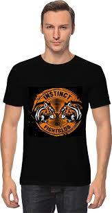 <b>Футболка классическая Printio Fight</b> Club Instinct #753622