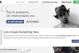 Cool Website Header LetsCreateSomethingNew