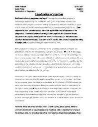 essay against abortions  college paper help essay against abortions