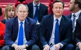 Image result for david cameron with bush
