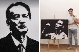 <b>DIY</b> King: Talented <b>Malaysian</b> Makes <b>Beautiful</b> Artwork Using ...