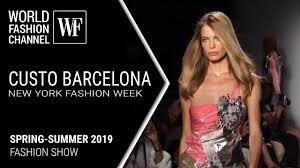 Custo Barcelona <b>spring</b>-summer 2019 <b>New</b> York <b>fashion</b> week ...