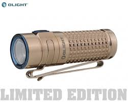 <b>Фонарь Olight S1R</b> II Ti Titanium | Купить фонарь Olight (Олайт)