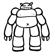 Small Picture 18 best Robots Coloring Pages images on Pinterest Robots