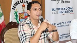 Resultado de imagen para gobernador regional de la libertad