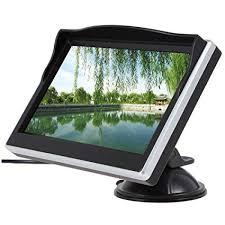 5.0 inch Car Rear View Sucker Monitor TFT LCD Car ... - Amazon.com