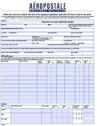 a eacute ropostale job application forms pdf templates aeacuteropastale job application