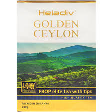 <b>Heladiv</b> Golden Ceylon Fbop Elite <b>Tea</b> with Tips <b>черный</b> листовой ...