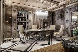 classic dining room design ideas art deco dining 7