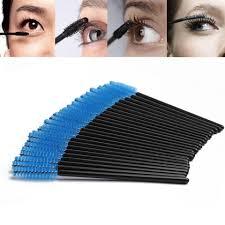 NEWCOME 100pcs One Off <b>Disposable Eyelash Brush Mascara</b> ...