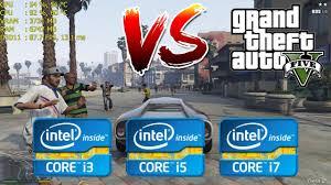 Intel <b>Core</b> i3 vs i5 vs i7 | GTA V / <b>5</b> - Gaming Performance - YouTube