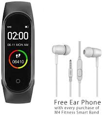Buy Free Earphone with <b>M4 smart band</b> Online at Low Prices in ...
