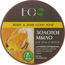 <b>ECO Laboratorie</b> Natural & Organic Body & Hair <b>Gold Soap</b> - <b>Мыло</b> ...