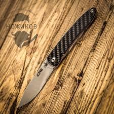 <b>Складной нож CJRB Ria</b>, сталь 12C27N, Carbon Fiber - купить в ...