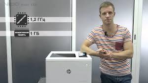 <b>Принтер HP Color</b> LaserJet Enterprise M553dn - YouTube