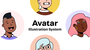 Avatar Illustration System | By swapping components ... - Figma