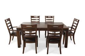 seven piece dining set:  pulaski heartland falls seven piece dining set