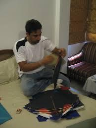 th of means kite flying my delhi adventures preparing the kites