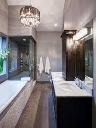 small bathroom chandelier crystal ideas: view in gallery bathroom lighting