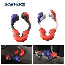 AOSHIKE <b>Car Rear Seat Bracket</b> Head Hook Boxing Holder For Car ...
