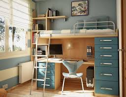 cool blue color boys dorm room multi use furniture and accessories boys room dorm room