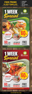 food promo flyer template by mixmedia graphicriver food promo flyer template 2 restaurant flyers