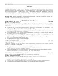 cover letter resume sample for administrative assistant position cover letter administrative assistant summary resume sle administrative assistantresume sample for administrative assistant position extra medium
