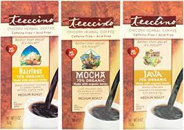 Teeccino Variety Pack (Hazelnut, <b>Mocha</b>, and Java) <b>Chicory Herbal</b> ...