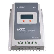 12v 24v 36v 48v auto work solar controller battery charger regulator 30a vs3048bn lcd display mt50 remote meter epever pwm