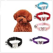 Howstar <b>Pet</b> Collar <b>Cute</b> Adjustable <b>Dog</b> Collar for Puppy <b>Crystal Pet</b> ...