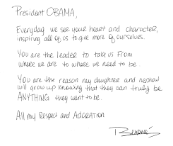 beyonce to president obama everyday we see your heart and beyonce writes note of appreciation to president obama