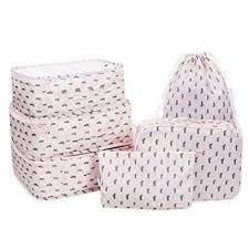 Amazon.com | Packing Cubes Luggage <b>Organizers Travel Bags</b> Bra ...
